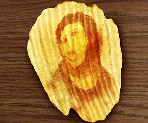 Miracle Jesus Potato Chip