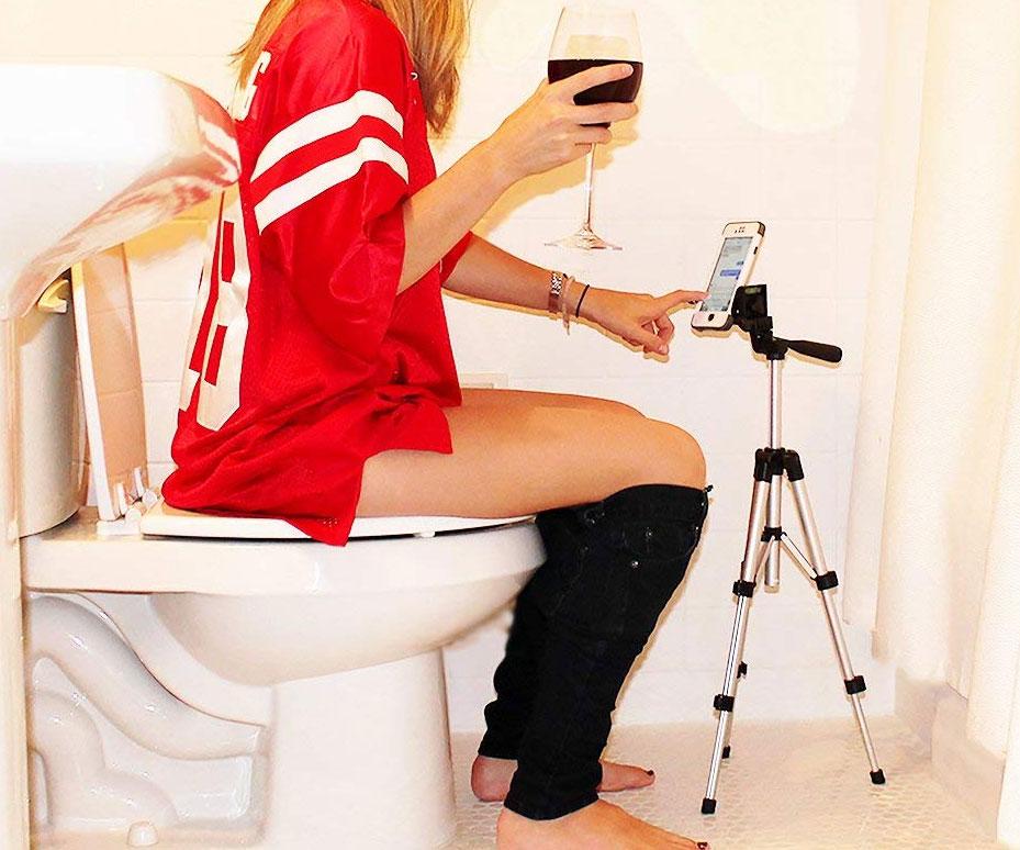 Potty Texter Toilet Smartphone Holder