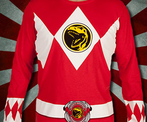 Power Rangers Long Sleeve Shirts