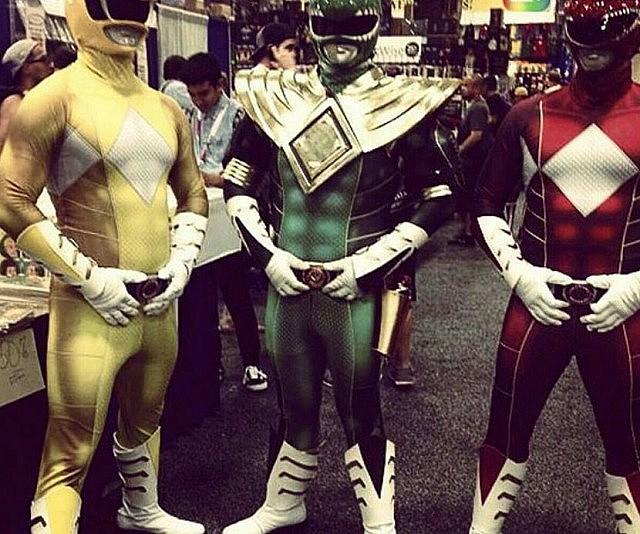 & Power Rangers Morphsuit Costume
