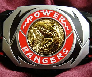 Power Rangers Morpher Belt Buckle