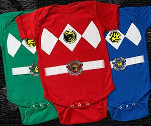 Power Rangers Onesies