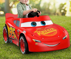 3 Wheel Car >> Power Wheels Cars 3 Lightning Mcqueen