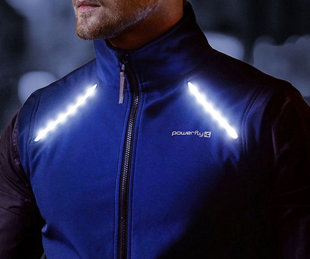LED Reflective Cycling   Running Vest 432188210a27