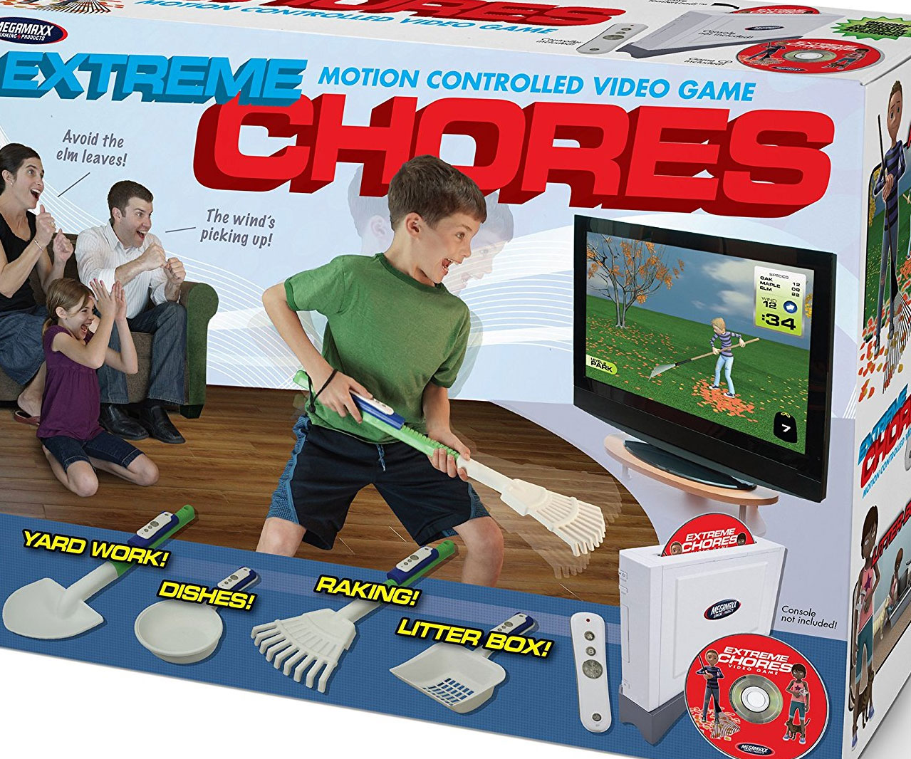 Extreme Chores Video Game - coolthings.us
