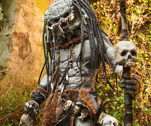 & Predator Cosplay Costume