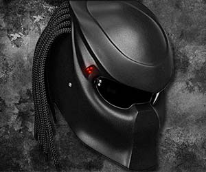 Dot Approved Alien Vs Predator Bike Crash Helm Predator Motorcycle Helmet