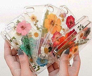 Pressed Flower iPhone Cases