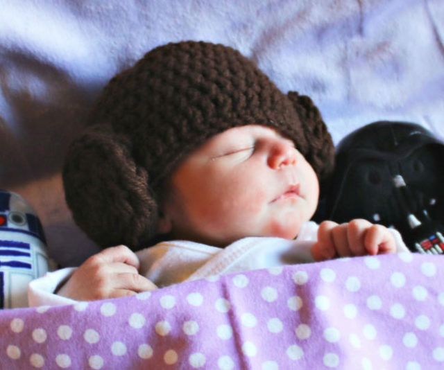 8981fd6e7f8 Princess Leia Baby Hat