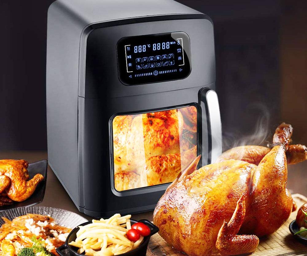 Programmable Hot Air Deep Fryer
