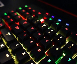 Programmable LED Gaming Keyboard