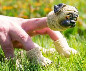 Pug Finger Puppet
