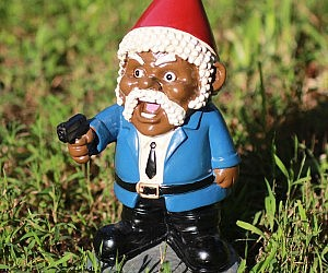 Pulp Fiction Jules Winnfield Lawn Gnome Part 89