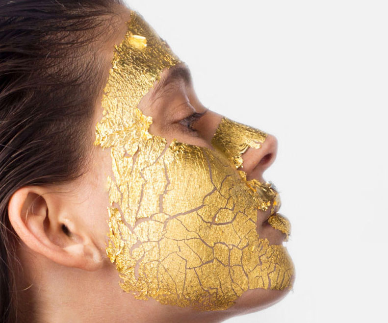 Pure 24K Gold Facial Mask