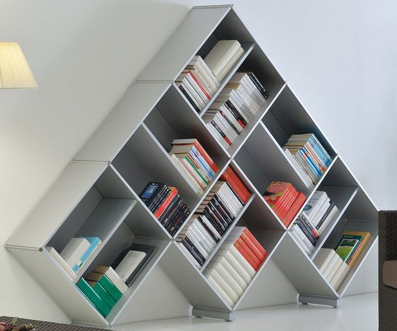 Pyramid Bookcase