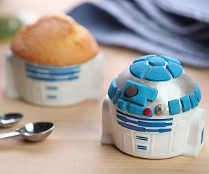 Star Wars R2-D2 Cupcake Molds