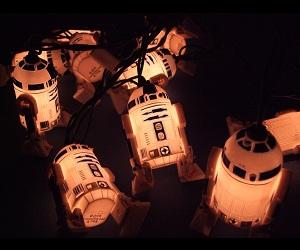Mini R2-D2 Lights