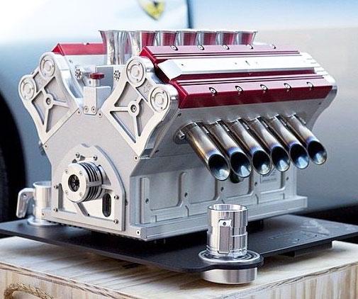 Formula One Engine Espresso Machine