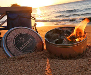Reusable Campfire In A Can