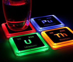 Radioactive Elements Coasters