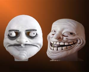 Rage Face Masks