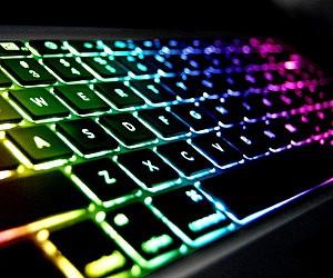 Rainbow Light Up Keyboard