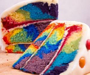 Tie-Dye Cake Mix