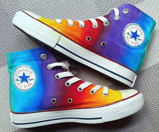 e737e374b5bc Rainbow Converse