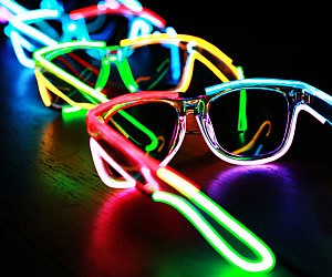 Rainbow Light Up Sunglasses