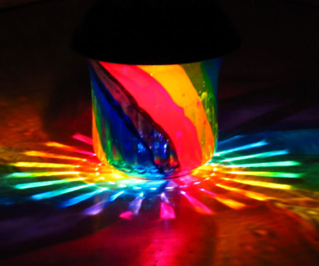Delightful Solar Rainbow Lamp