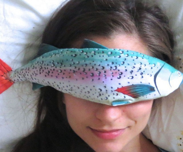 trout ebay salamander series tray pillow plush rainbow fish p fresh grocery decorative s