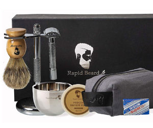 The All-In-One Wet Shaving...