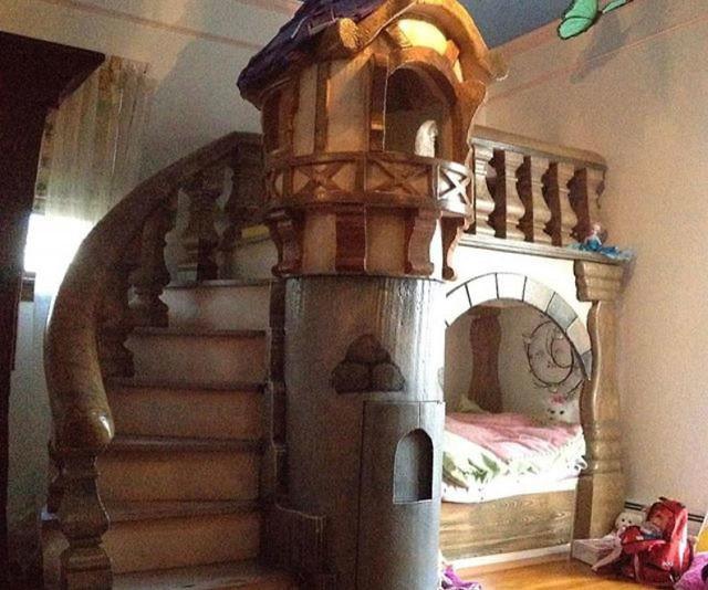 Bespoke Castle Bunk Bed