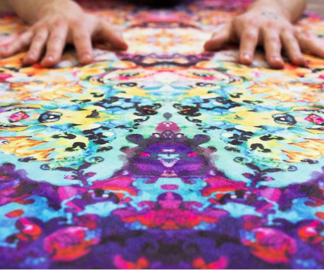 Complicated & amp; amp; amp; Vibrant Yoga Mat