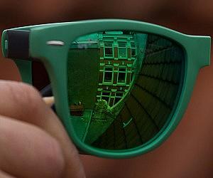 Folding Ray-Ban Sunglasses