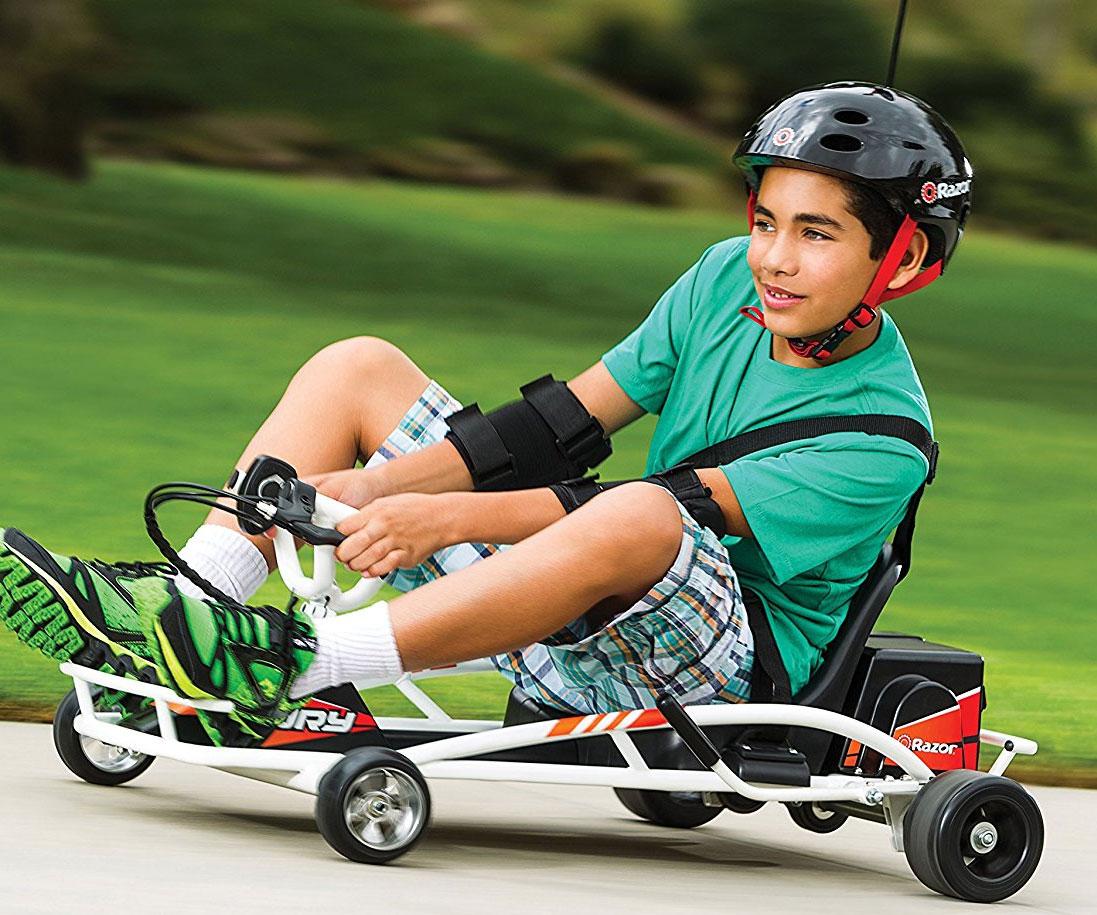Drifting Go Kart