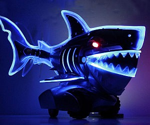 Light Up Radio Control Shark