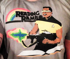 Reading Rambo T-Shirt