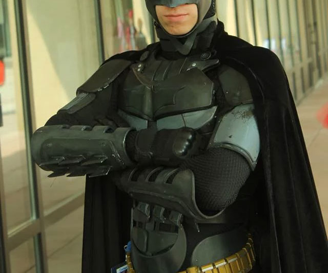 & Combat Ready Batman Suit