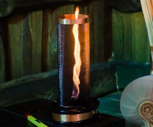 Real Fire Tornado Lamp