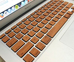 Wood MacBook Keyboard