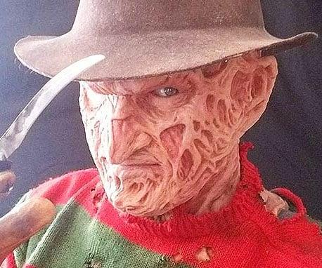 400337f0d Realistic Freddy Krueger Silicon Mask