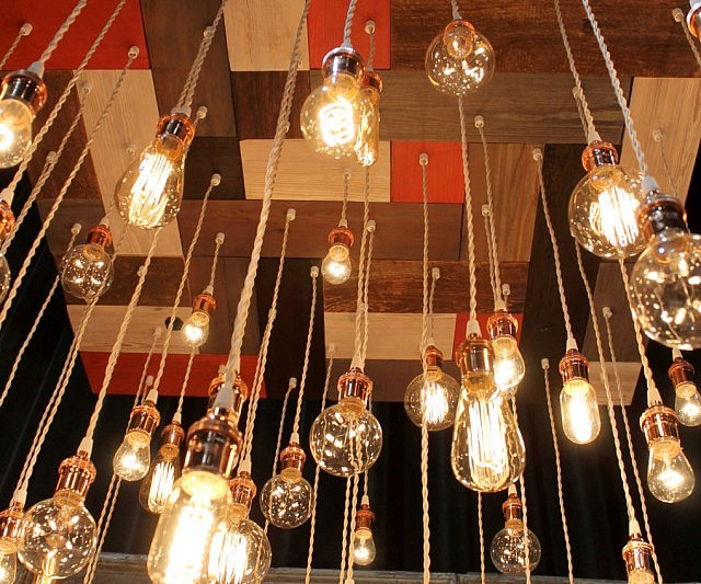 Unique Vintage Light Bulbs Chandelier