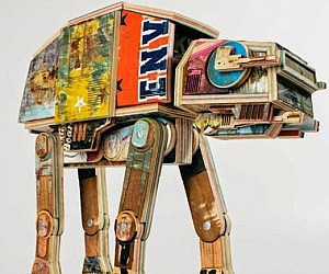 Recycled Skateboards AT-AT