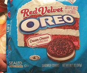 Red Velvet Oreo Cookies