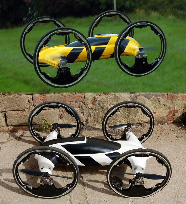 Radio Control Flying Car Hybrid