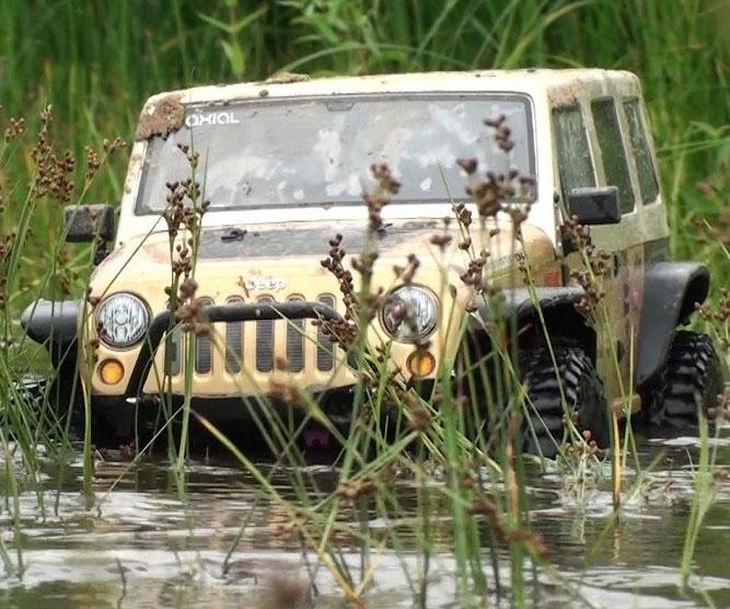 Radio Control Jeep Wrangler