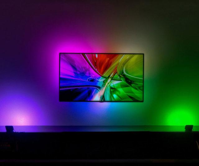 Responsive TV LED Backlighting Kit