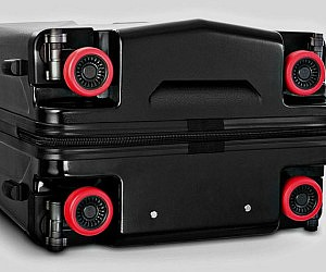 Retractable Wheels Suitcase