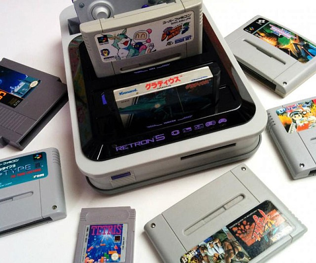 Retro Gaming Console 665500473
